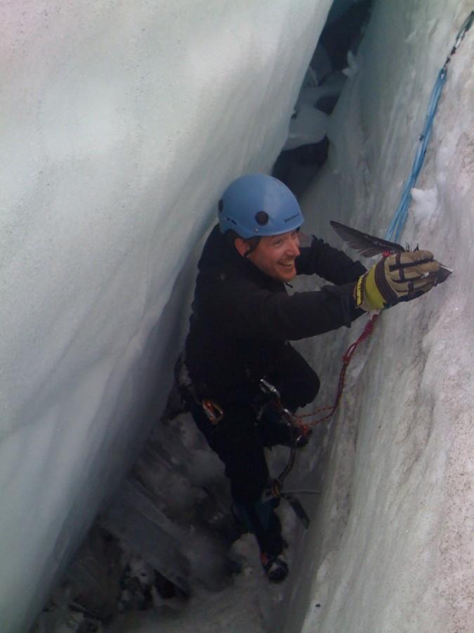 Crevasse Rescue on Cowlitz, Mt. Rainier WA