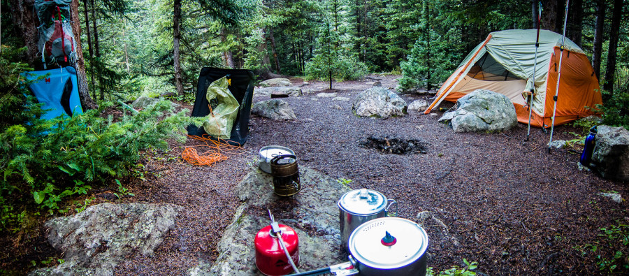 Colorado Campsite