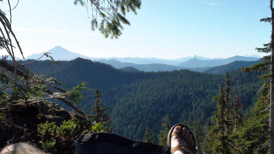 Chacos in Bull of the Woods Wilderness