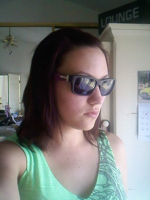me in sunglasses
