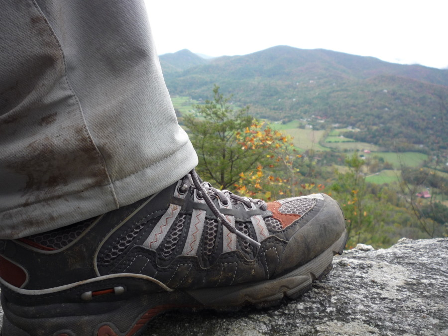 rocking the ultra 105 at the top
