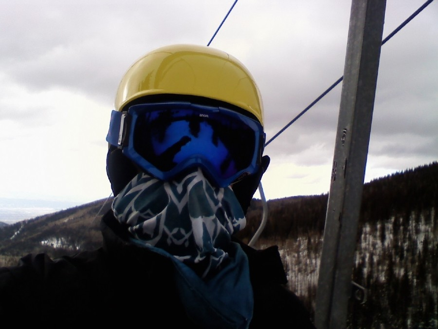 on the lift