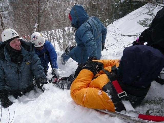 SAR Training in Crawford Notch, NH