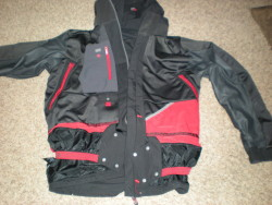 Inside of jacket, front