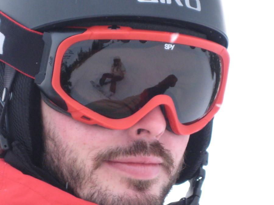 Spy Soldier Goggles at Marmot Basin, Jasper AB, Canada