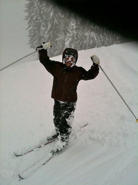 Sheds Snow like a snowplow!