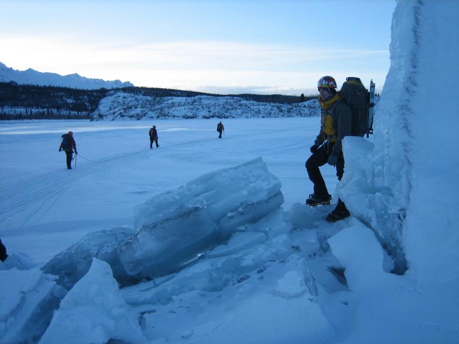 Matanuska Glacier, February 2010