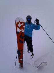 Val Thorens powder day in France