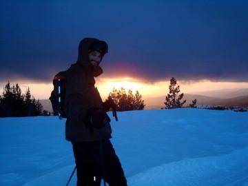Darren Dix sports skii poles