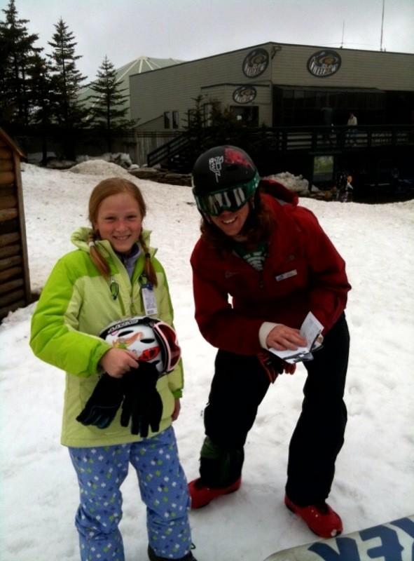 Snowshoe Snowboarding Lessons