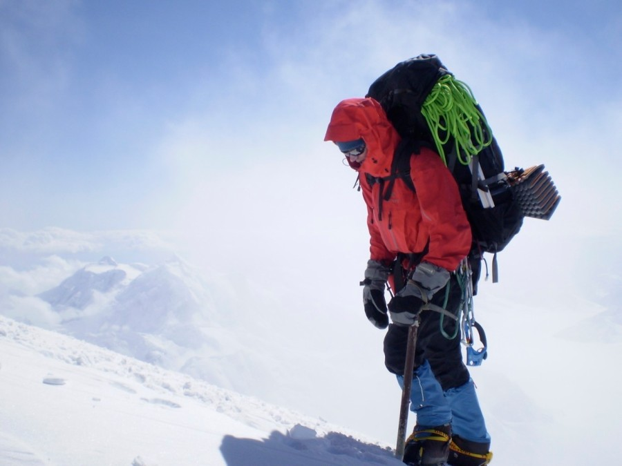 Bora 95 on the West Buttress of Denali