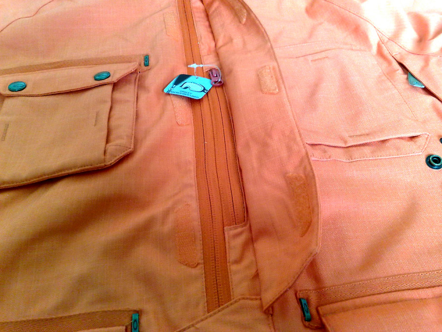 Alps chest pocket