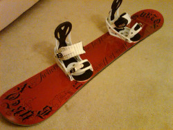 '09 Burton Twin w/ Burton Freestyle Bindings