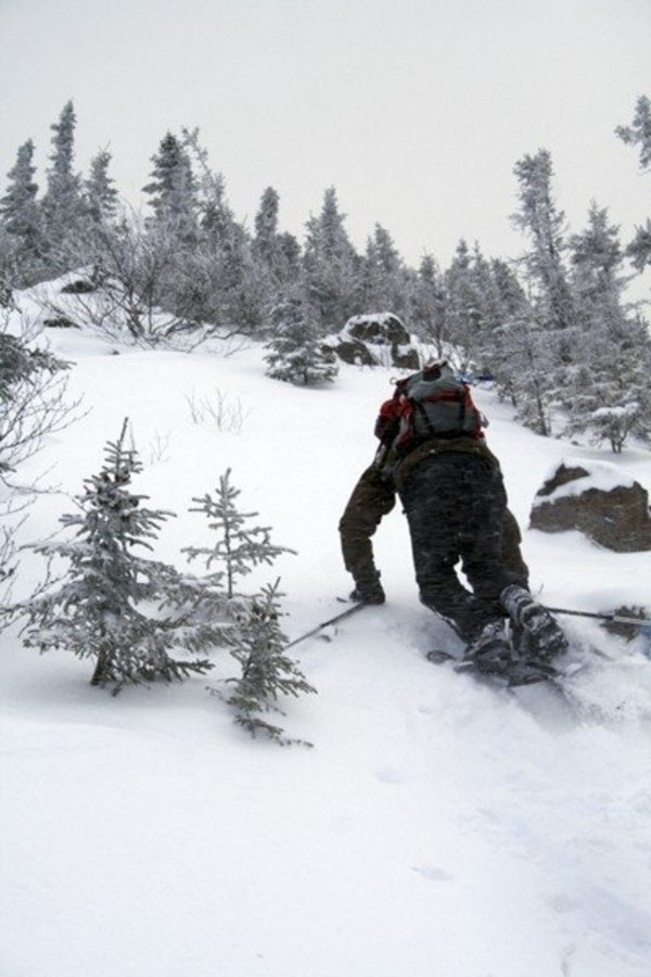 Assault on Mount Sagamook, Mount Carleton Park, February 2008