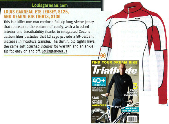 Triathlete Magazine, April 2010