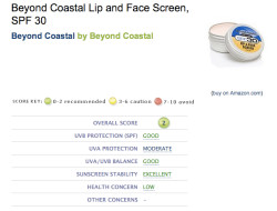 http://www.ewg.org/2010sunscreen/finding-the-best-sunscreens/302024/Beyond-Coast<wbr />al-Lip-and-Face-Screen-SPF/