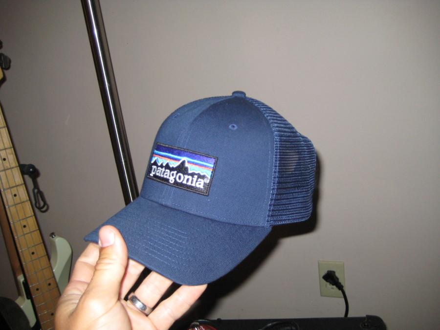 blue trucker