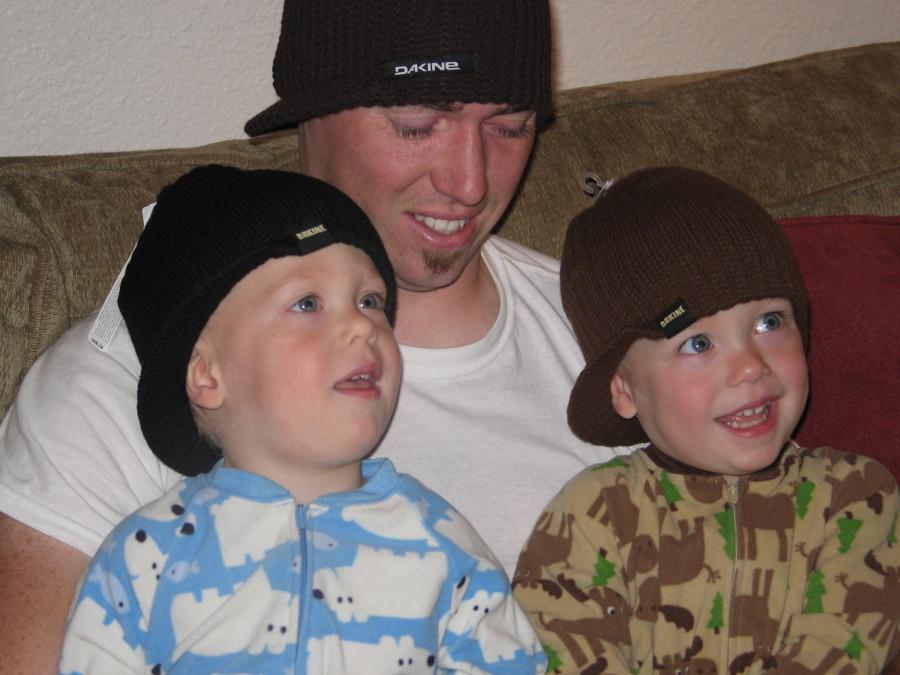 Twin hats!!