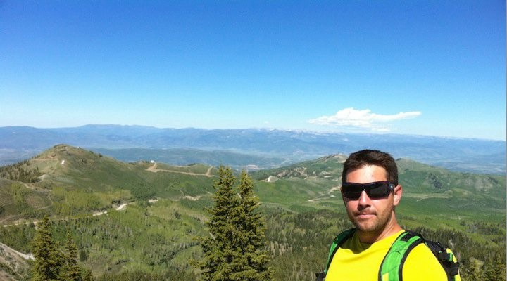 Hiking the Wasatch...