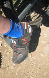 Sidi Dominating the Trails at the Canyons
