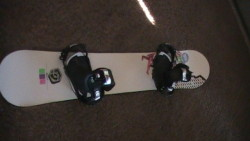 Salomon board Front