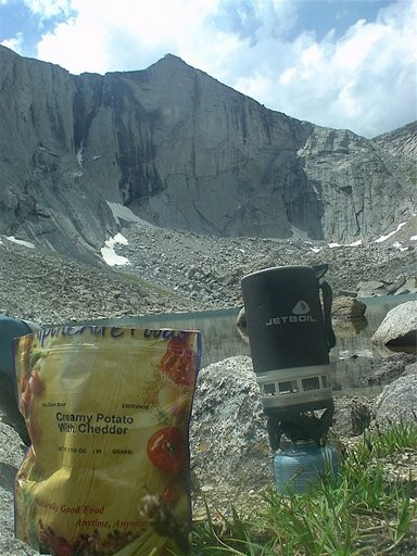Lunch in Smith Lake Basin - Wind River Range