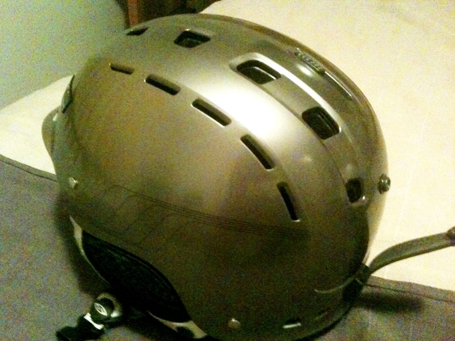 Smith Hustle (Silver Max) Helmet