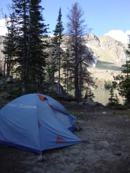 Kelty Gunnison Tent at Sheep Lake- Montana