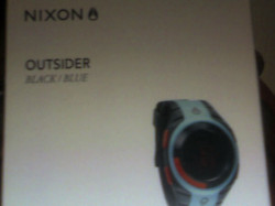 Nixon outsider black and blue