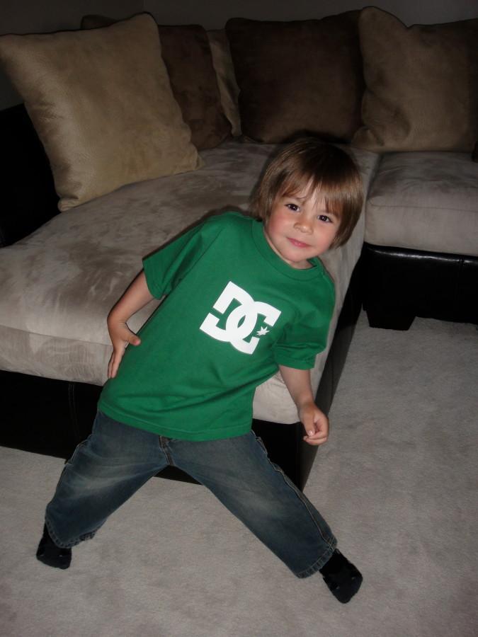 Kids DC shirt
