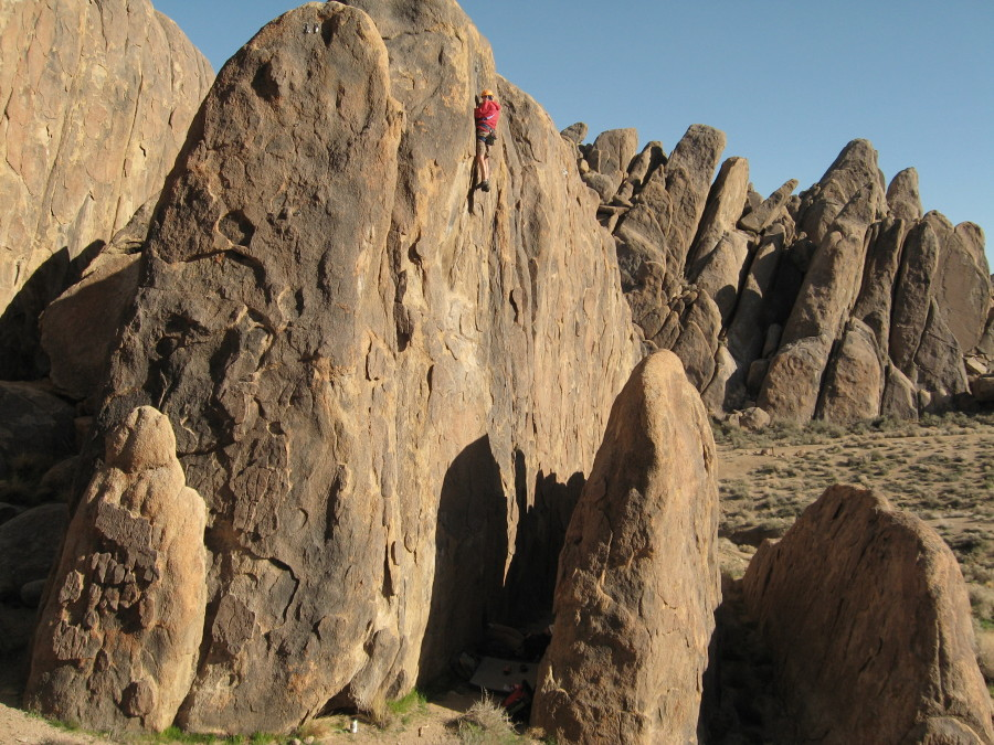 Sunday Matinee Wall, Alabama Hills