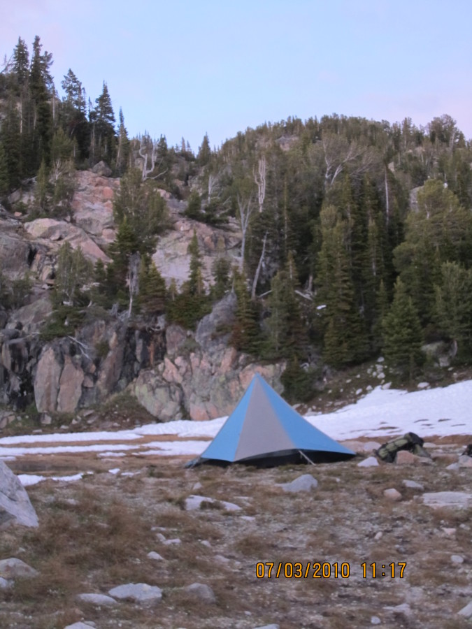 Backpacking in the Beartooths in Montana