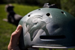 Dented helmet, not a dented skull!