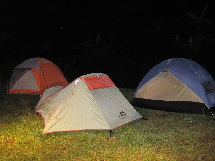 Camping in Fuego Volcano, Guatemala