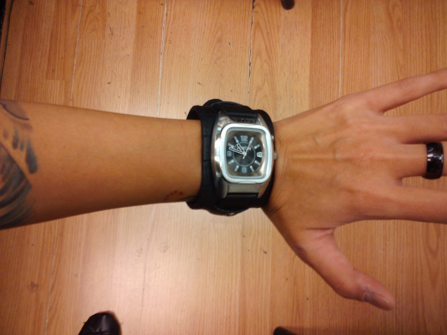 A guy's watch for a girl!