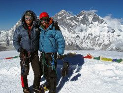 Summit Ama Dablam