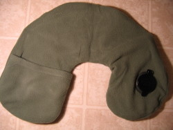 Eagle Creek Comfort Travel Pillow Deflated