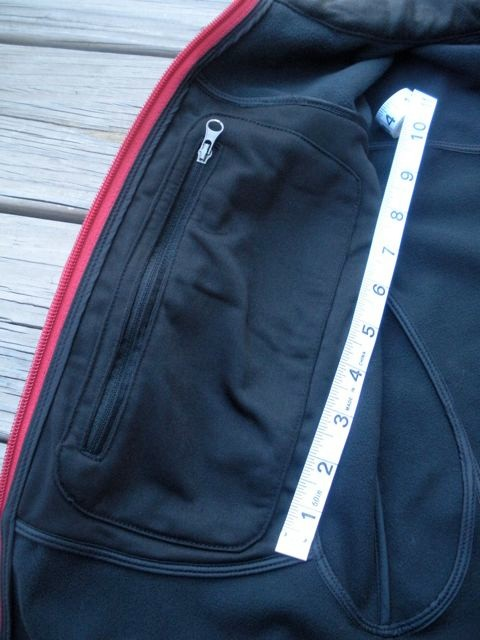Marmot Snazette - Inner Pocket detail