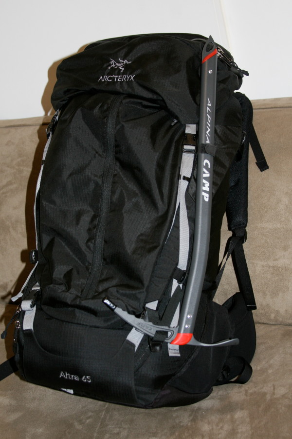 axe attached to the Altra 65