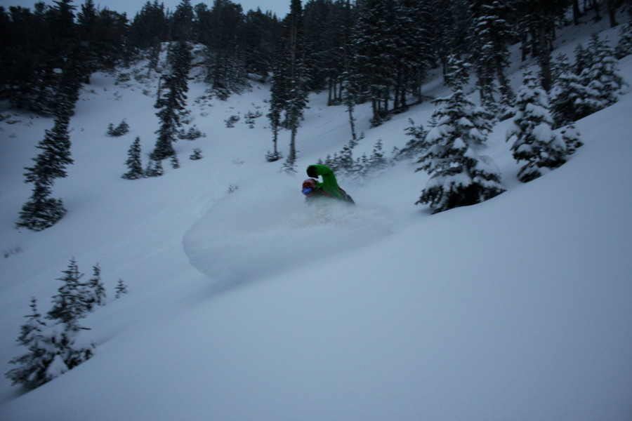 11/09/10: Alta, Utah. Deep Pow, Low Light, I/O Domination.