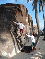 Bring your pad to Paradise! Kyle tests the foam in Virgin Gorda, BVI