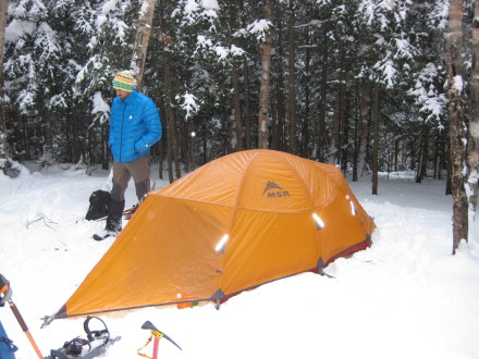 awesome 4 season tent for tall people