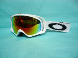 oakley crowbar - matte white/fire