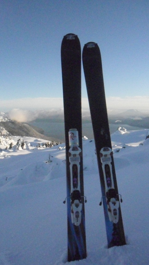 These skis are awesome