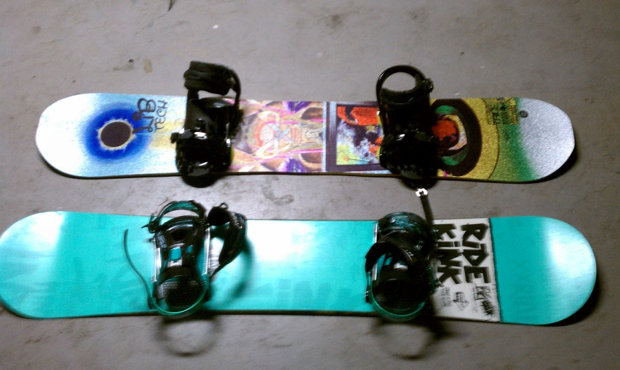 flux ds45 bindings on my lib tech