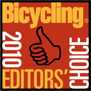 Winner of Editor's Choice by Bicycling for 2010