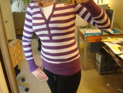 Purple Stripes!