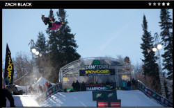 zack black at dew tour yesterday