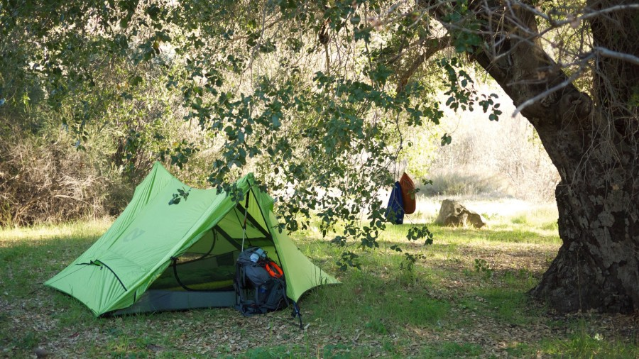 CA camping mid Feb