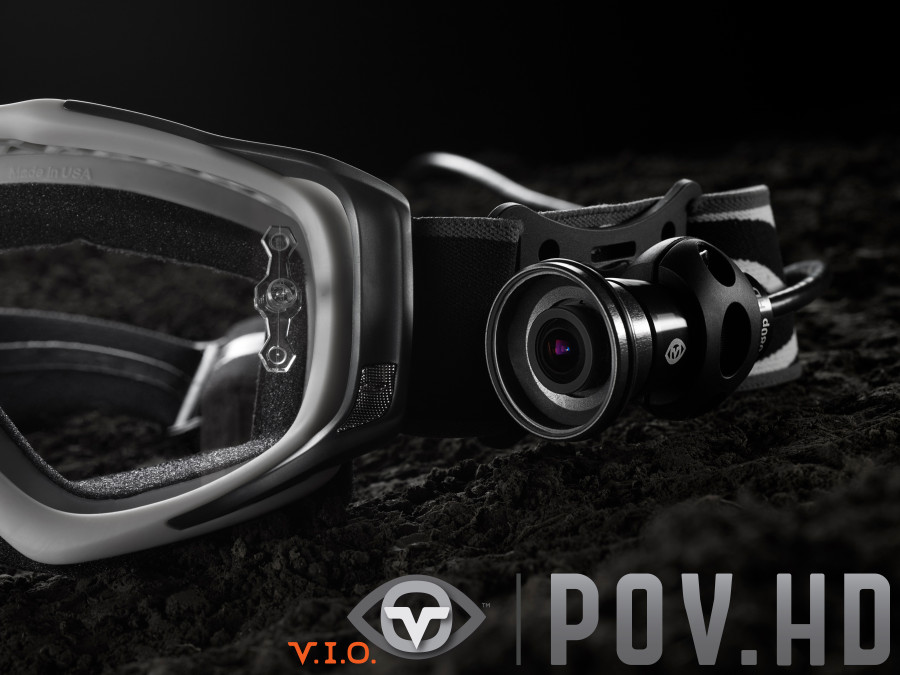 POV.HD Goggle Mounted